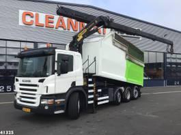 garbage truck Scania P360 Palfinger 23 ton/meter laadkraan 2011