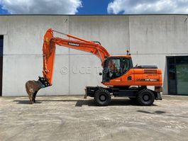 wheeled excavator Doosan DX 190 W-3 2016