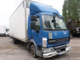 closed box truck DAF LF45 2009