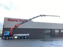 tipper truck > 7.5 t Scania G480 10X4 + KIPPER/TIPPER + EFFER 850 6/S + JIB 6S KRAAN/KRAN/CRANE/GRUA 2010