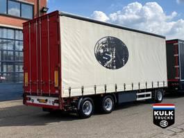 tilt trailer Vogelzang VA-9-18 / 3 AXLE / TOP CONDITION! OMEGA HARD HOUTEN VLOER 2001
