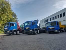 closed box truck MAN Wij zoeken vrachtwagens / kranen / containersystemen 2010