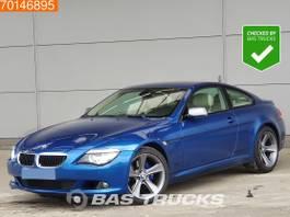 coupé car BMW 635D 365PK Carbon Blue Sonic Edition 2010
