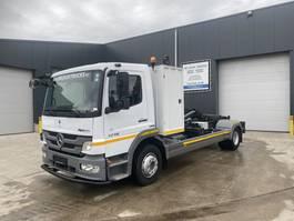 container truck Mercedes-Benz ATEGO 1218 HAAKSYSTEEM EURO5