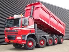 tipper truck > 7.5 t Ginaf X 5450 5450S / 10x8 TIPPER / EURO 5 / 25 m3 STEEL TIPPER 2009