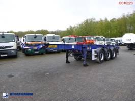Container-Fahrgestell Auflieger Dennison 3-axle container trailer 20-30-40-45 ft 2005