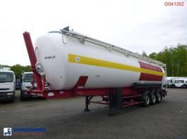 tank semi trailer semi trailer SPITZER Powder tank alu 65 m3 (tipping) 2002