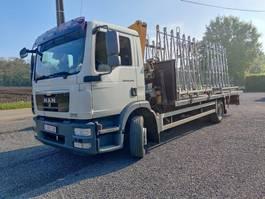 drop side truck MAN TGM 12 Euro5 Kraan Effer 2010