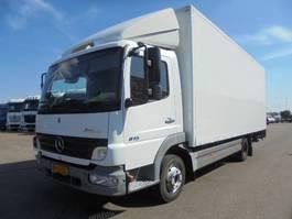 closed box truck Mercedes-Benz Atego 815 L 2006