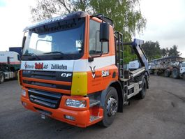 container truck DAF CF 75 containersysteem  4x2 2001