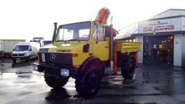 other agricultural machine Unimog U 1650 mit Kran und Pritsche /Ahk. 1992