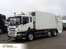 garbage truck Scania P230 + Garbage + 6X2 2006