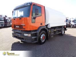 tank truck Iveco EuroTech Cursor 270 + Manual + ADR + 4 comp + 15000L 2003