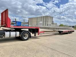 lowloader semi trailer Lintrailers 45T - 3-axles ( 1 STEER) lowloader + 6M50 EXTENDABLE  - Belgische papieren / zeer nette staat 2004