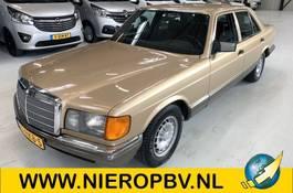 sedan car Mercedes-Benz S280 6cil NIEUWSTAAT 1983