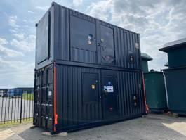 generator MTU 12 V 2000 Stamford 500 kVA Supersilent generatorset in 20 ft container 1999
