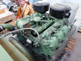 generator Mercedes-Benz OM 421 WITH  GENERATOR 3 X 380 / 220 VAC 50HZ.