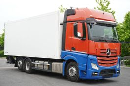 refrigerated truck Mercedes-Benz Actros 2542 , E6 , Schmitz 18 EPAL , 2,5m height , partition wal 2017