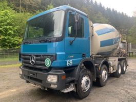 concrete mixer truck Mercedes-Benz 3236 B ** Stetter 9m3/Blatt/Schaltgetriebe ** 2004