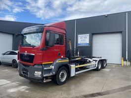 container truck MAN TGS 26.440 HAAKSYSTEEM EURO5