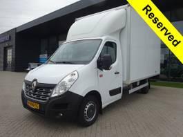box truck Renault Master T35 170 2.3 dCi Achterdeuren + Airco 2018