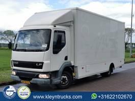 closed box truck DAF LF 45 150 2004