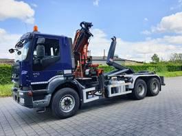 Kranwagen Iveco trakker 410 6x4 CONTAINER SYSTEEM- CONTAINER SISTEEM- CONTAINER HAAKSYSTEEM- SYSTEME CONTENEUR 2008
