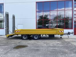 lowloader trailer Müller-Mitteltal ETUE-TA 18,0 NG 18 t Tandemtieflader, hydr. Rampen-- Wenig Benutzt -- 2015