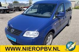 wheelchair transport passenger car Volkswagen caddy maxi invalide vervoer airco automaat 2010