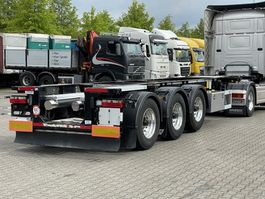 container chassis semi trailer LAG 20 / 30 FT ADR CHASSIS / BPW-DISC / ALCOA 2015