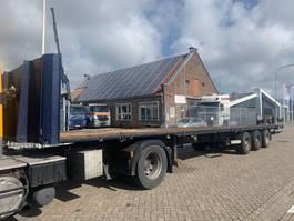 flatbed semi trailer Van Hool 3B2003 1998