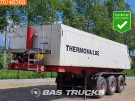 tipper semi trailer Langendorf SKA24/29 3 axles Thermomulde 22m3 Thermo Isoliert 2008
