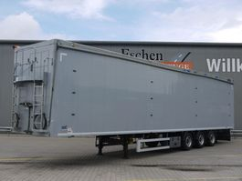 walking floor semi trailer Knapen Trailers K 100, 97m³ Walkingfloor 2013