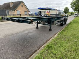 container chassis semi trailer LAG 0-3-39, 2 x 20 , 1 x30, 1 x 40 container. 1993