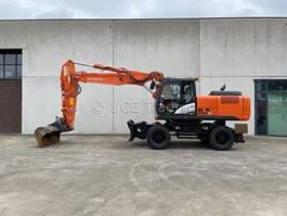 wheeled excavator Hitachi ZX220W-5B 2015
