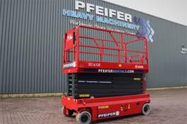 scissor lift wheeld Magni ES1612E Valid inspection, *Guarantee!, Electric, 1 2019