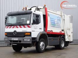 garbage truck Mercedes-Benz Atego 1523 4x4 - Eurovoire 12m3 - Huisvuil, Garbage, Mullwagen 2003