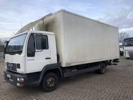 box truck MAN L2000 LE 8.180 BOX 2004
