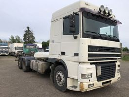 chassis cab truck DAF XF 95 CONTAINER CHASSIS 2001