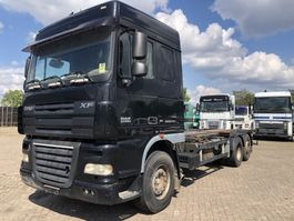 chassis cab truck DAF XF 105 CONTAINER CHASSIS 2006