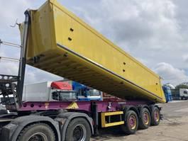 tipper semi trailer Schmitz Cargobull SKI24 Steel-Alu 28m³ Liftas  TOP Km 249314 2012