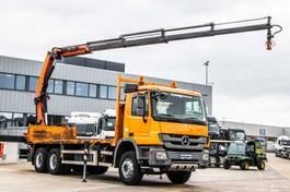 platform truck Mercedes-Benz Actros 2636 MP3+E5+Plateau 7m+PK 22002-4( Remote C.) 2012