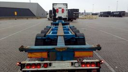 container chassis semi trailer Broshuis UNIVERSEEL 2014