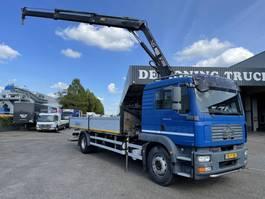 crane truck MAN Tgm 18.240 Hiab xs duo122 2008