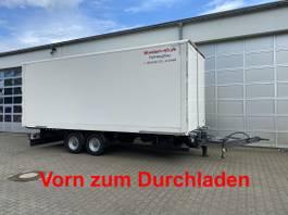 closed box trailer Möslein 04.2022 TKO 105 D Schwebheim Tandem- Koffer- Anhänger, DurchladbarGuter ... 2019