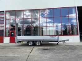 lowloader trailer Möslein THT 11 Schwebheim Tandemtieflader-- Neuwertig -- 2017