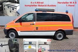 ambulance lcv Mercedes-Benz 116 Aut. 4x4 WAS Notarzt-Rettung- Ambulance 2015
