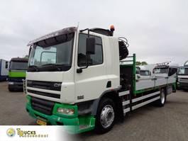 platform truck DAF + Manual + HIAB 102 CRANE 2002
