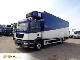 refrigerated truck MAN TGM 12 + Carrier + Dhollandia Lift+low klm 2009