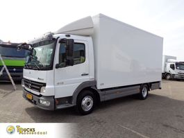 closed box truck Mercedes-Benz Atego Euro 5 + Flower Transport+top conditie 2008